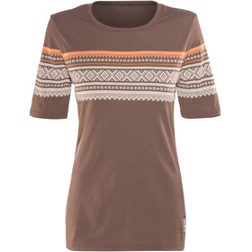 Aclima DesignWool Marius Shortsleeve Shirt Women brown